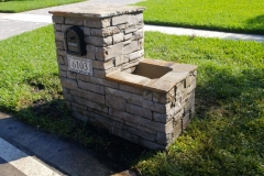 Anderson Custom Stone Mailbox Featured